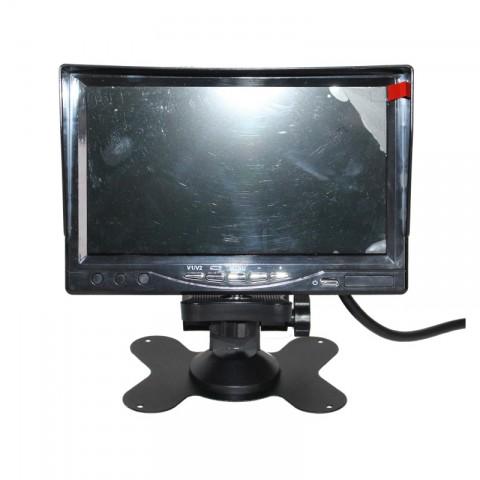 RoadScan 360 4 camera VEDR control screen