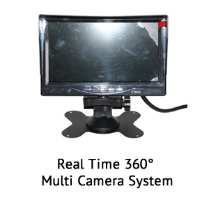 360° multi camera dashcam system