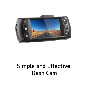 RoadScan 2 Channel widescreen DashCam